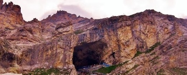 The Holy of Holy's - The Mahamaya Cave Temple and Ice Shiva Lingam of Amarnath