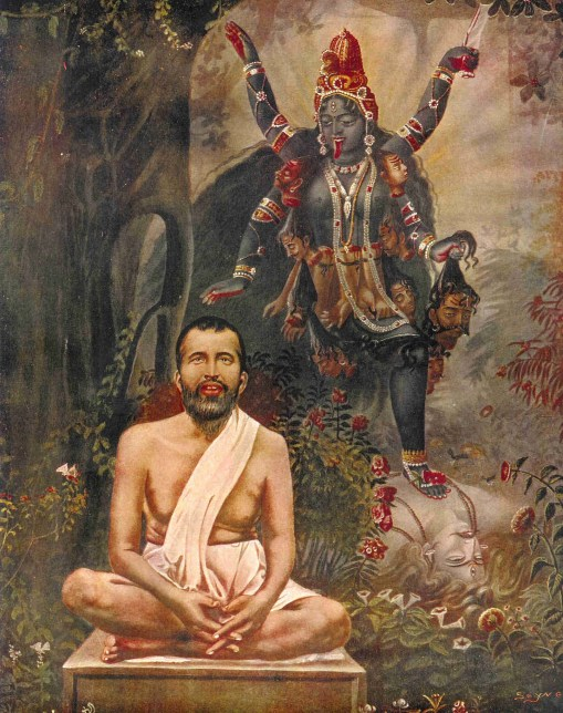 Sathguru Ramakrishna was initiated by the great Tantric, Bhairavi Brahmani.