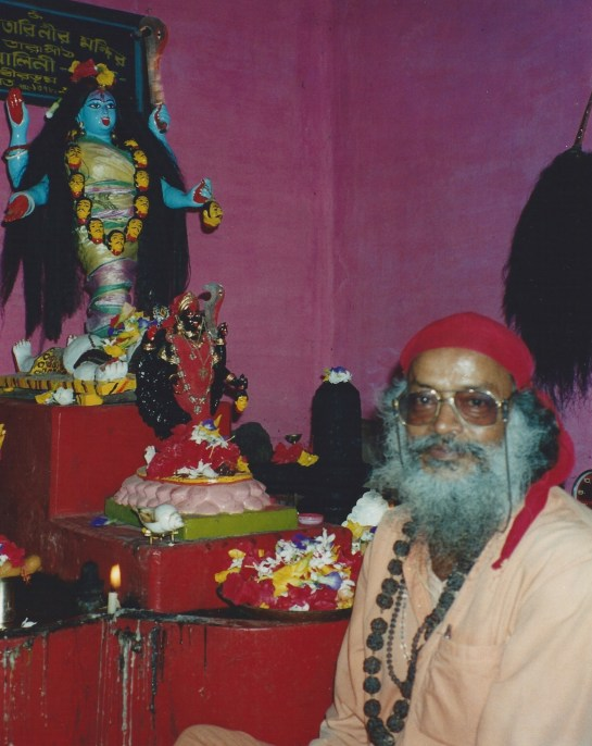 Tantracharya Swami Rudranath Giri Maharaj initiated the author in Bhairavi Kriya
