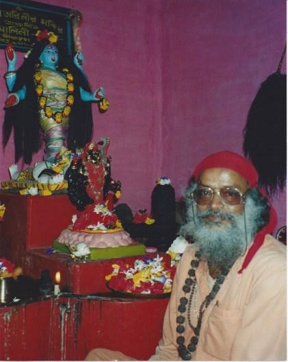 Rudranath Giri taught Kaula Marg Tantra with devotion to Kali and the 64 Yogini Goddesses