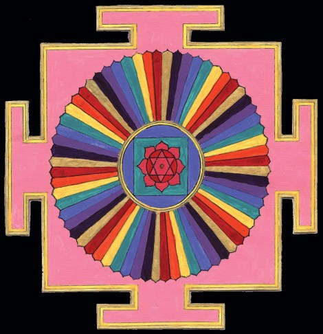 Yantra Yoga includes the 64 Yogini Yantra