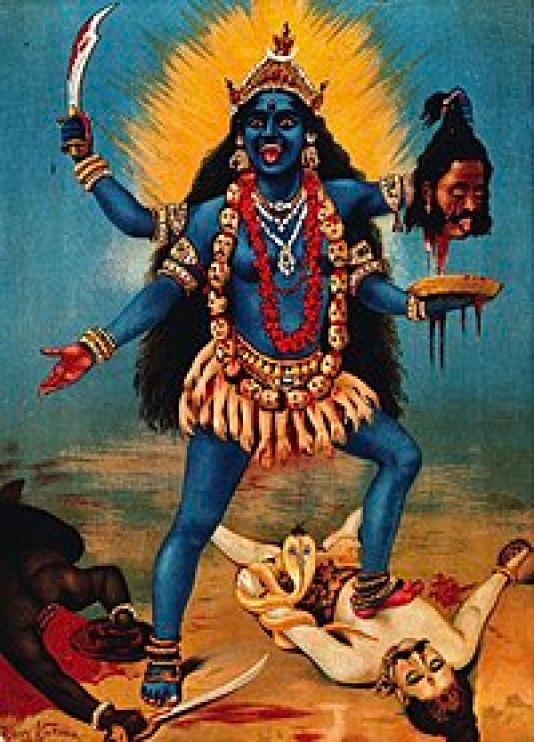 Majestic Dynamic, Powerful, Beautiful Cosmic Maha Kali (the voice of Kali Yogini Tantra)