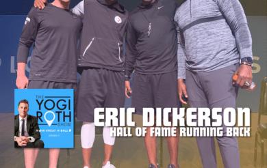 Eric Dickerson LA Rams Yogi Roth