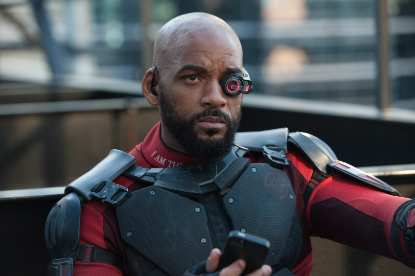 Will Smith is Deadshot in Suicide Squad