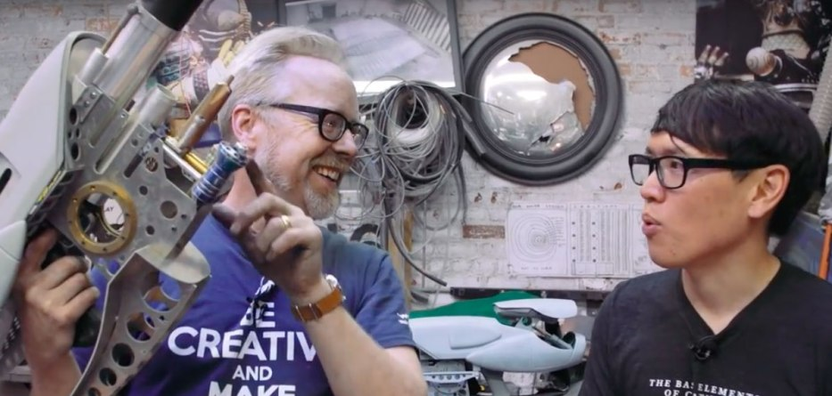 Still from Adam Savage ZF-1 YouTube video.