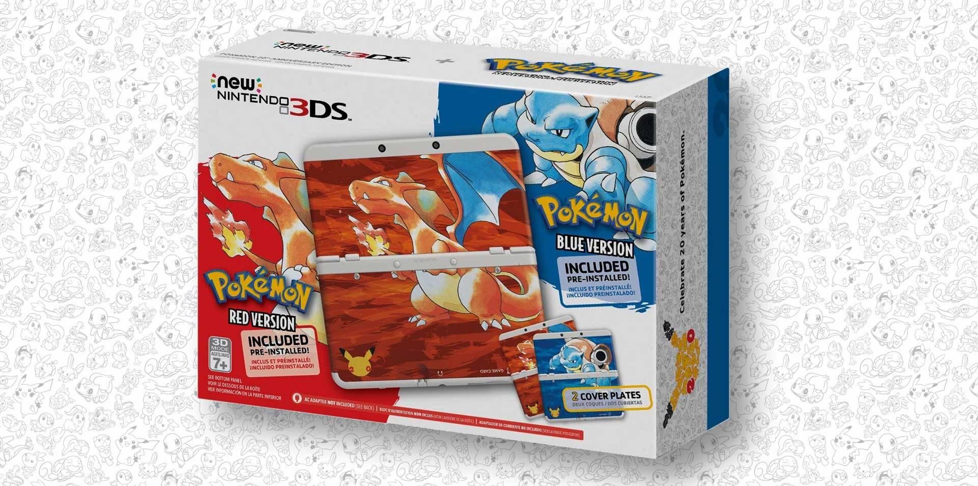 Pokémon 20th Anniversary Nintendo 3DS