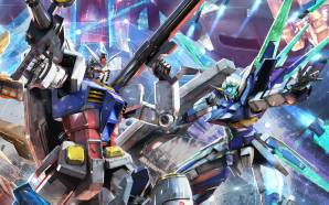 Gundam Extreme vs Maxiboost artwork
