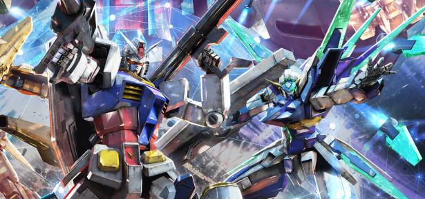 Gundam Extreme vs Maxiboost artwork