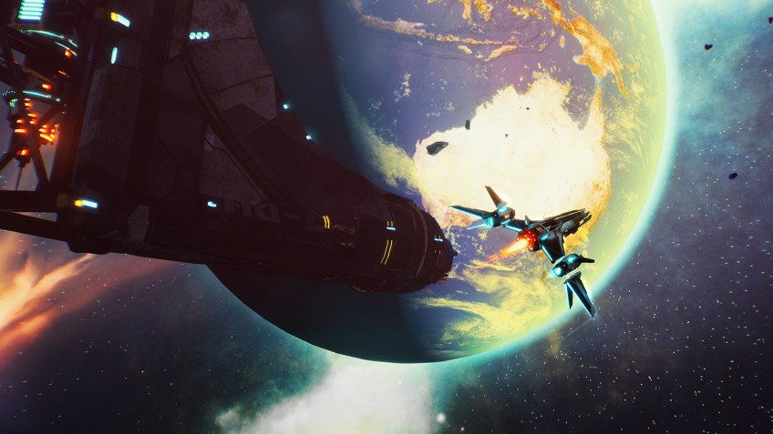 Redout Space Assault - Screenshot 1