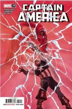 Captain America 28 cover