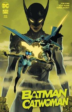 Batman Catwoman 4 cover