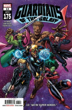 Guardians of the Galaxy 13 cover
