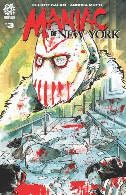 Maniac of New York 3 cover