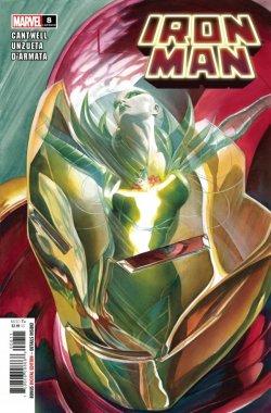 Iron Man 8 cover
