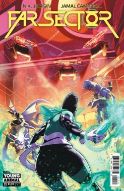 Far Sector #11 cover