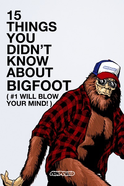 15 Things You Didn't Know About Bigfoot poster small