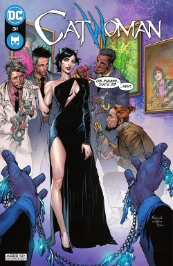 Catwoman 31 cover
