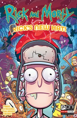Rick and Morty #1: Rick's New Hat comic cover