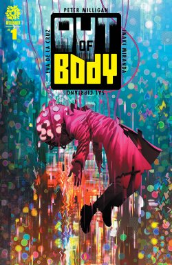 Out of Body 1 comic cover