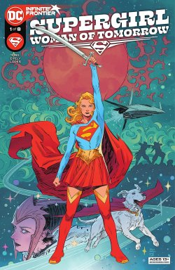 Supergirl: Woman of Tomorrow (2021-) #1 comic cover