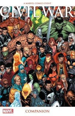 Civil War Companion comic book cover
