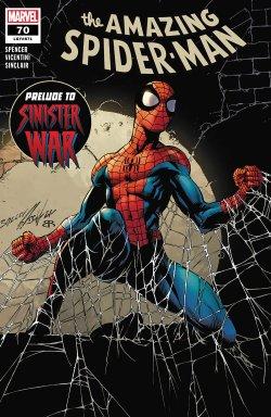 Amazing Spider-Man #70 comic book cover art