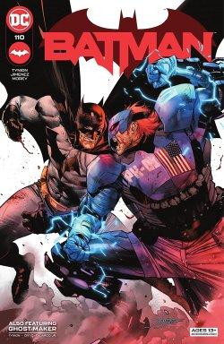 Batman (2016-) #110 comic book cover art