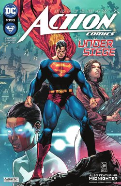 Action Comics 2016 comicbook cover