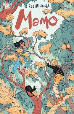 Mamo #1 comic book cover art