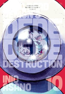 Dead Dead Demon's Dededede Destruction Vol. 10 manga cover