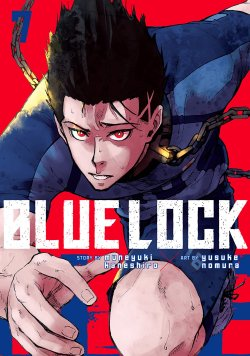 Blue Lock manga cover
