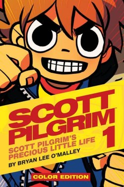Scott Pilgrim comic book favor
