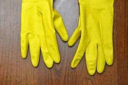 食器洗いの手荒れ対策におススメなゴム手袋