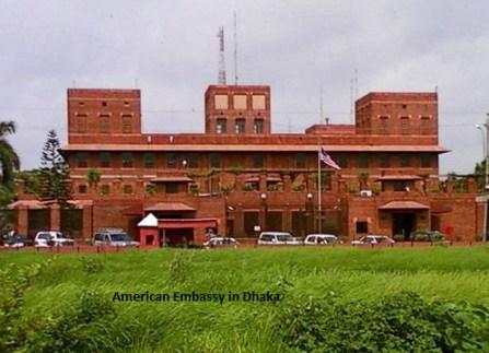 American Embassy Dhaka