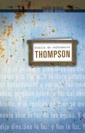 Biblia de Referencia Thompson RVR 1960 tamaño personal