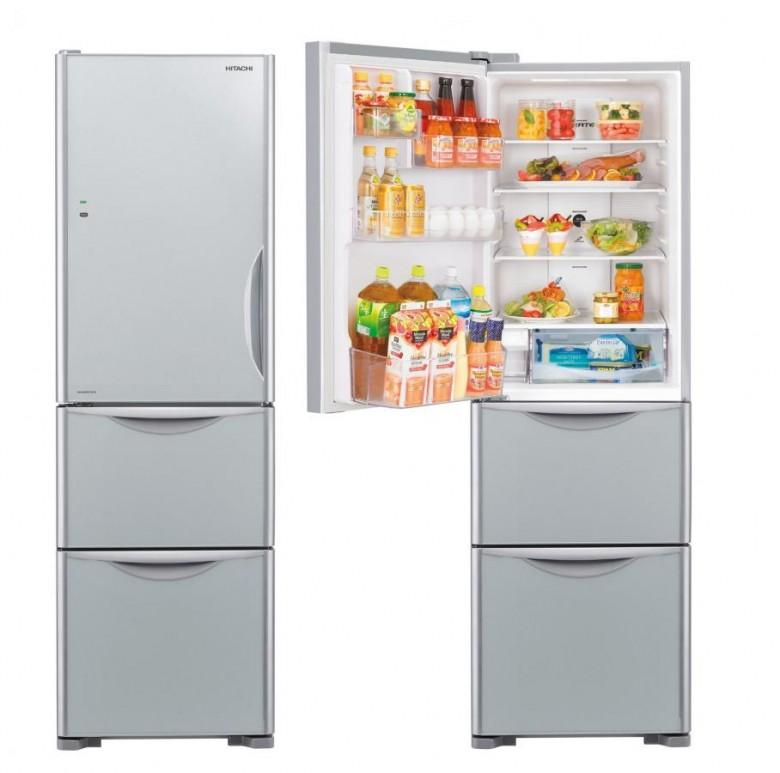 日立 Hitachi R-SG32EPHL 三門雪櫃 (266L) 左門鉸 黑影玻璃 香港行貨 - 雪櫃 - 大型家電 - 家庭電器 - 友和 YOHO - O2O購物