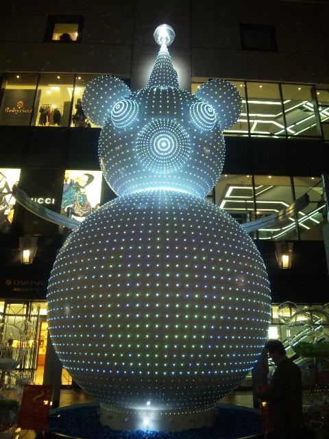 2009大丸パサージュ広場のイルミネーション