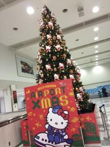 ハローキティのクリスマスツリー