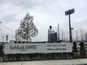 HAWKSベースボールパーク筑後入口