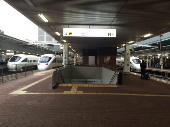 博多駅ホーム