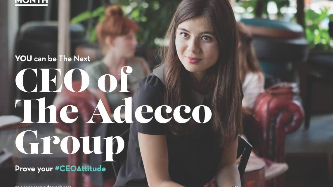 ท้าทายมาก! ชวนคุณมาเป็น CEO 1 เดือน กับ Adecco CEO for One Month