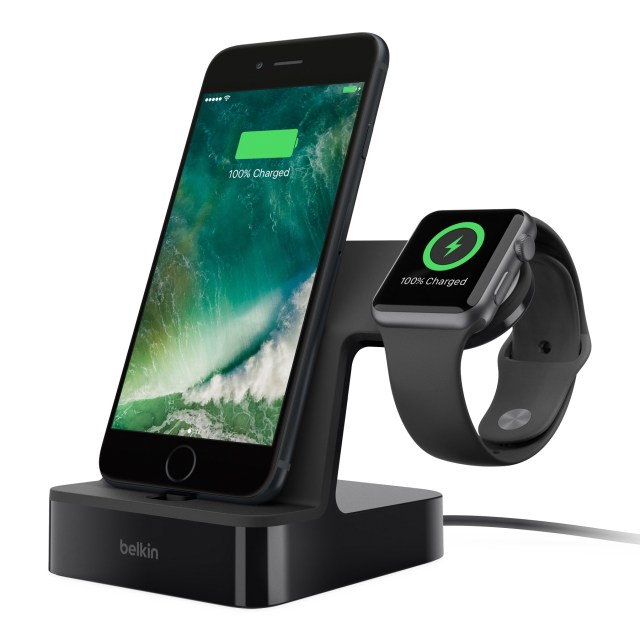 PowerHouse Charge Dock for Apple Watch + iPhone