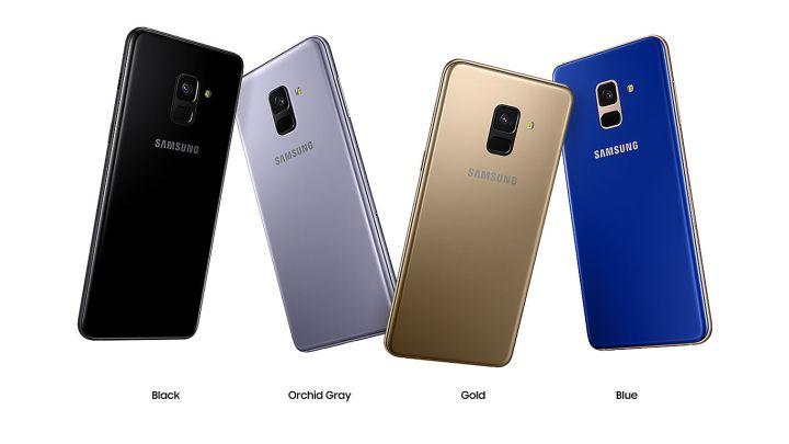 มือถือใหม่ Samsung Galaxy A8 | A8+ หน้าจอใหญ่ กล้องสวย ดีไซน์พรีเมี่ยม
