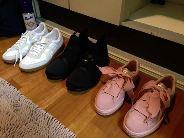 ร้องเท้า puma ร้าน ABC Mart Namba