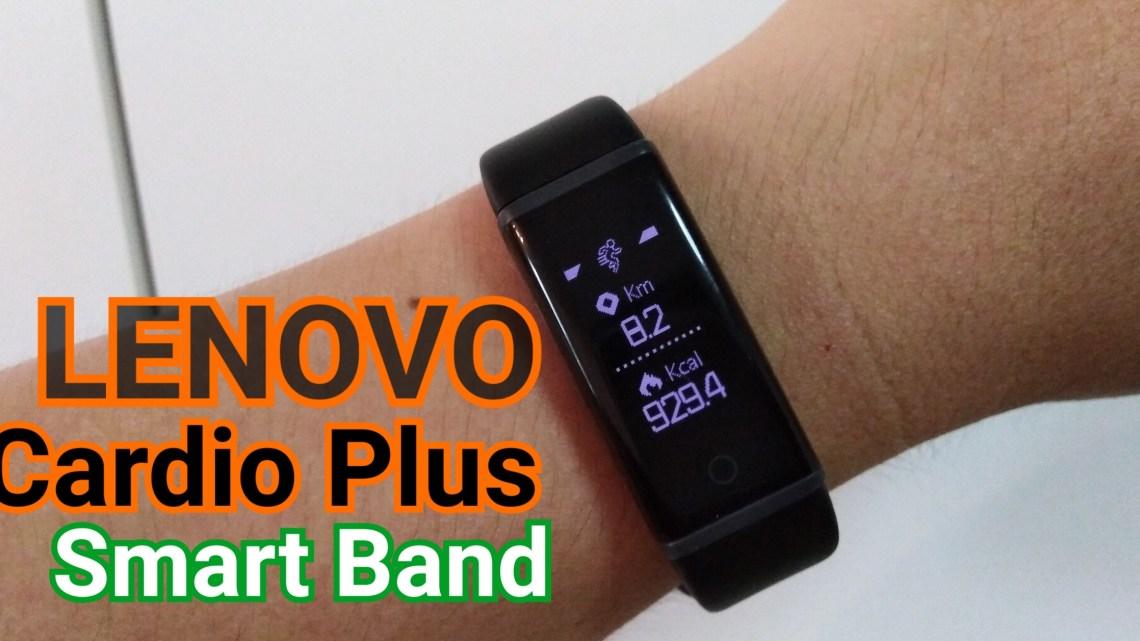Special Deal ราคาพิเศษ นาฬิกาออกกำลังกาย Lenovo Cardio Plus HX03W Smartband