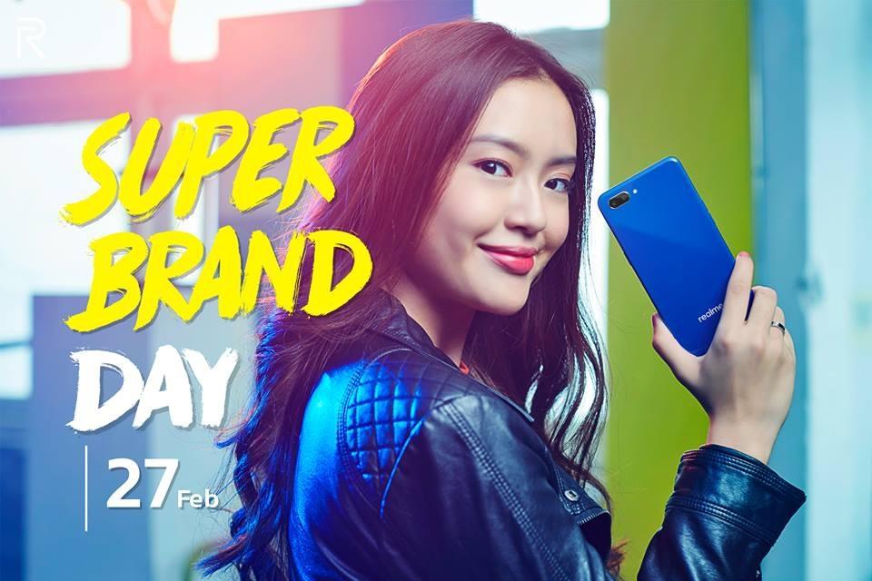 27 กุมภาพันธ์นี้ พบกับ realme Super Brand Day