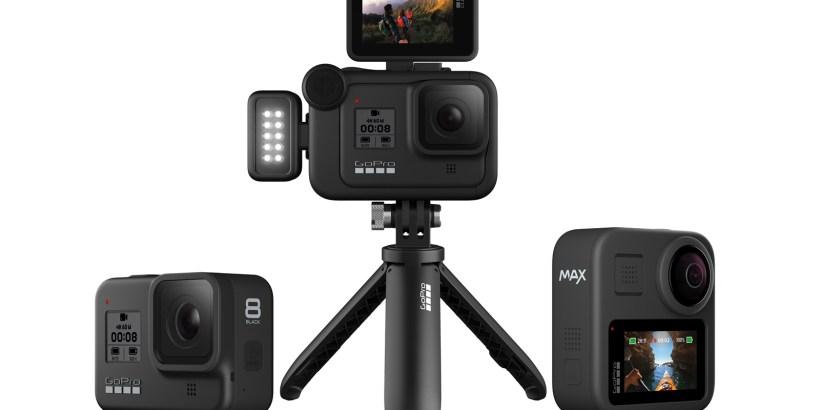 GoPro HERO8 Black, GoPro MAX Black, GoPro Mods
