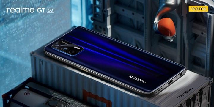 realme GT 5G Dashing Blue