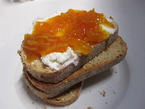 ネーブルオレンジのマーマレード