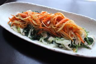 陸前高田郷土料理シリーズ:鶏ささみの野菜ソースかけ